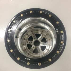 17x3 Keizer rear wheel with outside beadloc