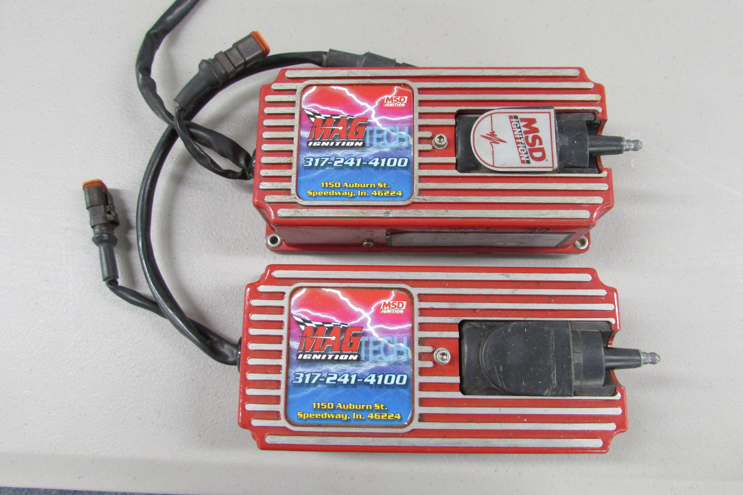 USED MSD Ignition Box