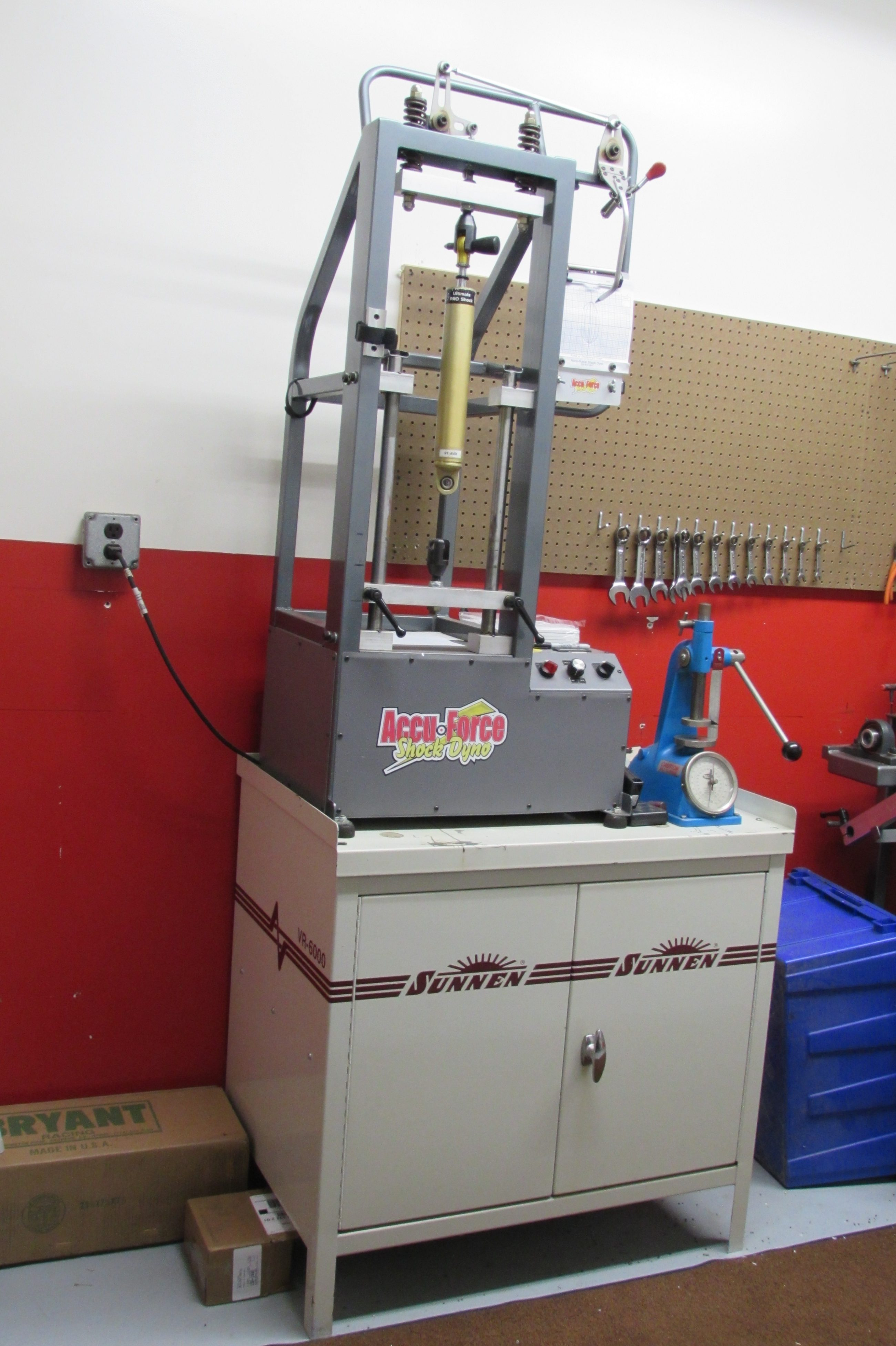 Shock Dyno Testing Accuforce Ohio Racing Shop Kistler Racing