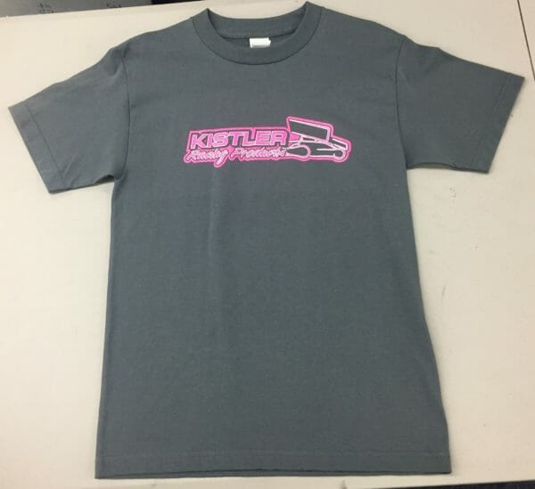 kistler racing pink t-shirt